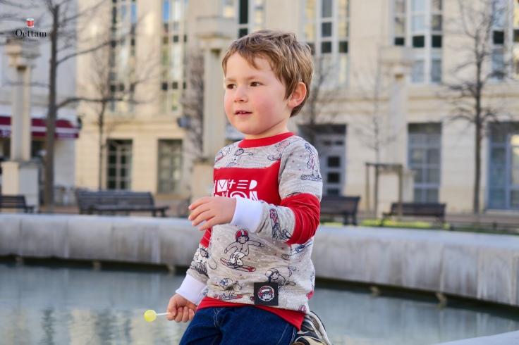Mini Me Fusselfreies vue de profil 2